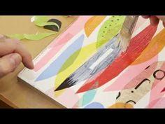 Artist Lynn Giunta teaches us how to create cut paper collage – Think.Make.Share.
