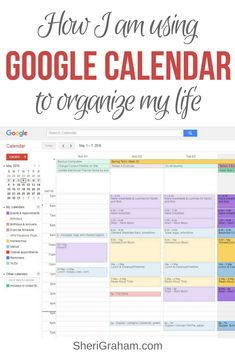 Want to see how I am using Calendar to organize just about everything in my life? In this post I go into detail exactly how I am doing just that! Google Calendar, Office Organization At Work, Calendar Organization, Cleaning Calendar, Organizing Life, Business Organization, Organising, Organizing Paperwork, Finance Organization
