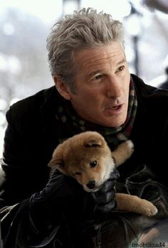 Richard Gere and Hachiko