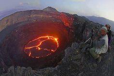 Earta Ale Active volcano