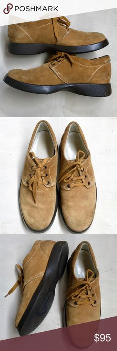 "Hogan Suede Lace-up Shoes Sz 8.5"" Hogan Interactive Handmade Outwear Genuine Leather UK 6.5 US 8.5"". Rubber Soles. Shoes have signs of wear, some markings on the soles but over all it's in great condition. Hogan Shoes Flats & Loafers"