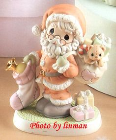 So cute :-) Precious Moments Wedding, Disney Precious Moments, Precious Moments Quotes, Precious Moments Figurines, Biscuit, Blackbird Designs, Santa Pictures, My Precious, Cold Porcelain