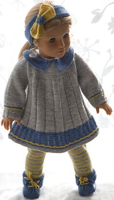 American doll knit patterns