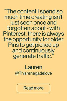 Join us in finding out about Lauren's career path, her Pinterest top tips and the impact that it has had on her business.