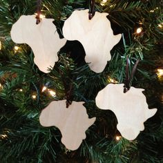 Items similar to Paint your Own Ornament Party - Africa - Set of 4 Ornaments on Etsy Christmas Tree Inspiration, Christmas Tree Themes, Christmas Ornaments, African Christmas, Black Christmas, African Theme, Holiday Fun, Holiday Decor, Kwanzaa