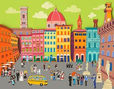Wrong Turn in Florence by JayKrenson on Etsy, $45.00