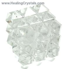 Lemurian 54 Pyramid Power Cube (India) - We are delighted to offer these Lemurian 54 Pyramid Power Cubes from India. These are fantastic energy pieces and combine the power of the Lemurian pyramid...