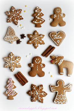 Eve and Apple: Bögrés mézeskalács -rögtön süthető és rögtön puha Gingerbread Man Cookies, Biscuits, Sweet Cookies, Christmas Cooking, Christmas Aesthetic, Christmas Treats, Christmas 2019, Cookie Decorating, Food Art