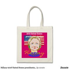 Hillary-2016 United States presidential election ベーシックトートバッグ