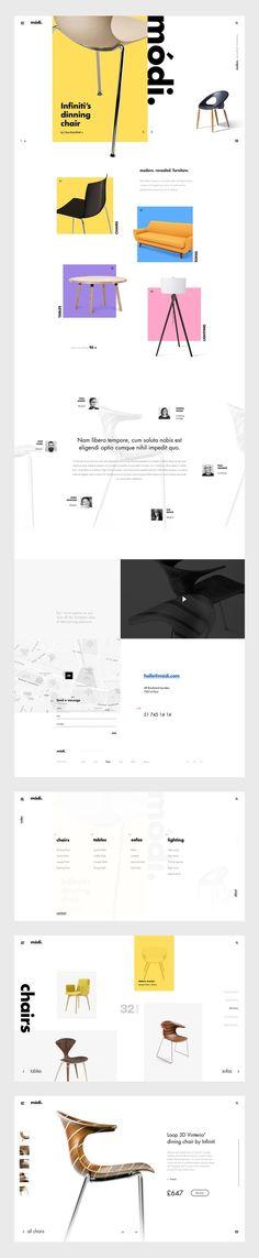 Módi on Web Design Served
