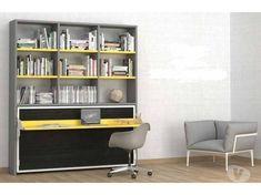 Libreria Con Scrivania A Scomparsa : Fantastiche immagini su scrivania a scomparsa bed room
