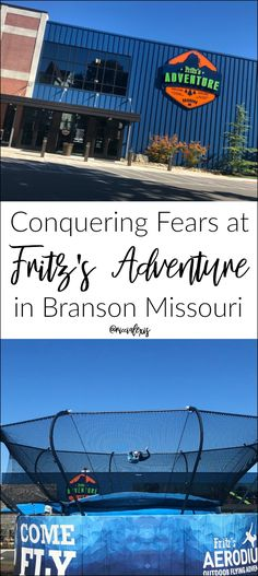 Conquering Fears at Fritz's Adventure in Branson Missouri! Best Vacation Spots, Best Places To Travel, Best Vacations, Places To Go, Family Vacations, Vacation Ideas, Arkansas Vacations, Family Trips, Travel Oklahoma