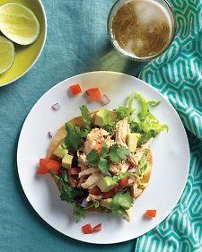 from martha stewart chicken tostada salad rotisserie chicken recipes ...
