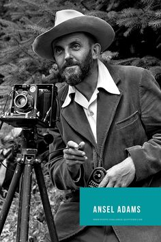Ansel Adams et le zone system Edward Weston, Ansel Adams Photos, Photo Grand Format, Wonderful Images, Inspire Me, Challenges, Inspirational Quotes, Words, Straight Photography