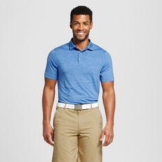 Men's Spacedye Golf Polo Shirt - C9 Champion Sky Blue Xxl