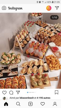 Party Food Platters, Bread Shop, Fourth Of July Food, Reception Food, Homemade Cake Recipes, Snacks Für Party, Savory Snacks, Healthy Meals For Kids, Morning Food