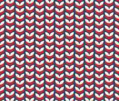 *Fourth of July!! winter_garden fabric by holli_zollinger on Spoonflower - custom fabric