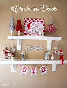 Love this #DIY #Christmas decor on iheartnaptime.net