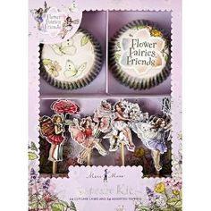 Meri Meri Cupcake Kit Flower Fairies $12