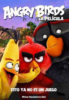 Poster de Angry Birds: La Película (2016) DVDRip Latino