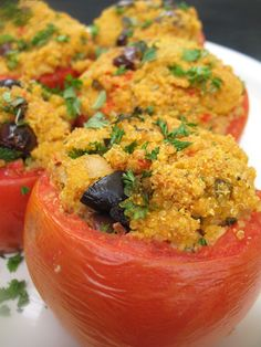 stuffed tomatoes with quinoa