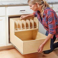 Kitchen Cabinet Storage, Kitchen Drawers, Kitchen Redo, Kitchen Pantry, Storage Cabinets, Kitchen Organization, New Kitchen, Kitchen Cabinets, Kitchen Ideas