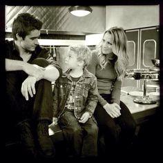 Clay, Quinn, Logan