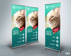"""Check out new work on my @Behance portfolio: """"Pet Shop Roll-Up Banner - v38"""" http://be.net/gallery/36919237/Pet-Shop-Roll-Up-Banner-v38"""