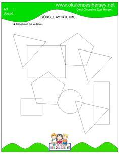 Math For Kids, Dark Souls, Preschool, Symbols, Letters, Shapes, Map, Geometric Fashion, Activities