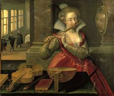 Dirk de Quade van Ravesteyn  Allegory of Music c1600 - Pinterest