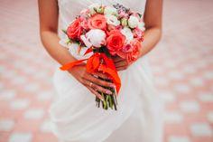 Коралловая свадьба зажигательных Ульяны и Чингиза!   16 фотографий