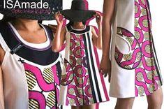 50 tenues en pagne pour hommes,femmes et enfants African Print Dresses, African Print Fashion, African Wear, African Women, African Dress, African Clothes, African Beauty, Ethno Style, Kente Styles