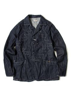 Kapital | 8oz Denim Thunderbird Coverall Jacket