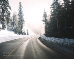 winter roads by KyleMeck
