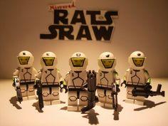 Lego Star Wars minifigures - Clone Custom Domino Squad SPECIAL Star Wars Clones, Lego Clones, Lego Star Wars, Star Wars Minifigures, Star Wars Clone Wars, Lego Ww2, Marvel Dc, Lego Marvel, Halo Figures