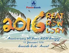 "Check out new work on my @Behance portfolio: ""6th Anniversary - Panin Bank KCU Sangaji"" http://be.net/gallery/33102299/6th-Anniversary-Panin-Bank-KCU-Sangaji"