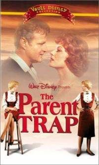 Parent Trap 91961) - Hayley Mills, Maureen O'Hara & Brian Keith - Hayley Mills plays twins who, unknown to their divorced parents, meet at a summer camp. Products of single parent households, they switch places (surprise!) so as to meet the parent they never knew, and then contrive to reunite them.