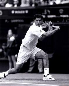 Pete Sampras (born August 12, 1971). My favourite sportsperson. :)
