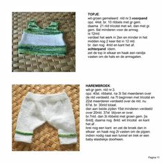 Kruidvat - BABY BORN BREI / HAAKPATR Baby Doll Clothes, Doll Clothes Patterns, Clothing Patterns, Baby Dolls, Baby Born, Crochet Hats, Babies, Knitting, How To Make