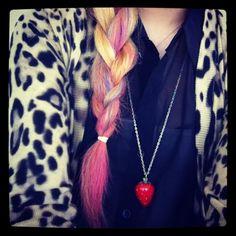 Pink & Blue Braid