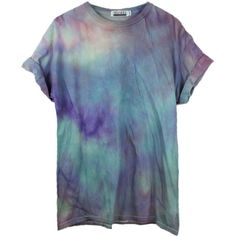 Blue Pastel Tie Dye T-Shirt, Pastel Festival Tshirt Dress, Unicorn... ($33) ❤ liked on Polyvore featuring tops, t-shirts, tie dye shirts, tie dyed shirts, unisex t shirts, t shirt and blue t shirt