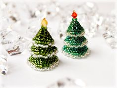 Xmas tree beading TUTORIAL
