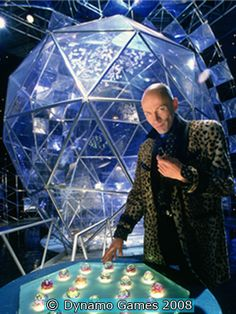 The Crystal Maze -- the presenter just made this program