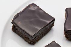 Hovkonditorn: Licorice Brownies with Licorice Chocolate Fudge Fr...