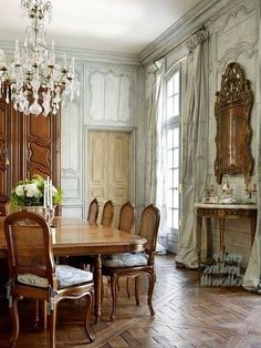 54 Amazing Dining Room Design Ideas With French Style dining #room #54 #amazing #dining #room #design #ideas #with #french #style