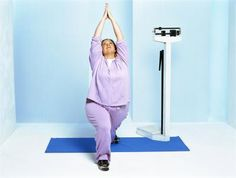 """Yoga Exercises for Plus-Size Women - """"You don't need to be stick-thin to practice yoga."""" Amen!"""