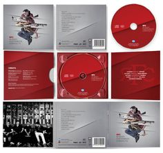 Cd Packaging, Packaging Design, Cd Cover Design, Press Kit, Booklet, Album, Design Packaging, Package Design, Card Book