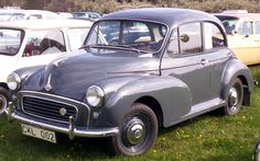 Morris Minor 1000! The pluckiest of workhorses. Like riding a Shetland pony, and about as drafty.