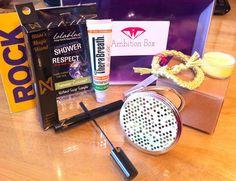 New beauty subscription box! Ambition Box!
