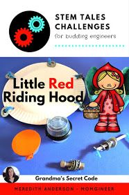 Little Red Riding Hood STEM Activity with Integrated Literacy - momgineer